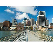 embarcadero waterfront Photographic Print