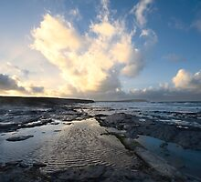Heart of the Storm - Newtrain Bay - Cornwall by Samantha Higgs