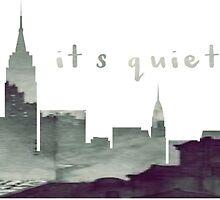 It's Quiet Uptown by cammarays