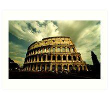Colosseum - Rome Art Print