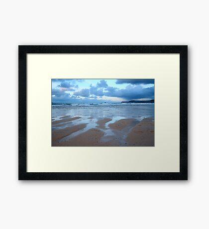 Evening at Harlyn Bay Framed Print