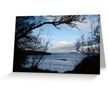 Natural Window - Harlyn Bay - Cornwall Greeting Card