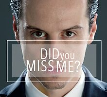 Moriarty  by SamanthaSomeone