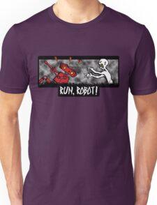 Run, Robot! Unisex T-Shirt