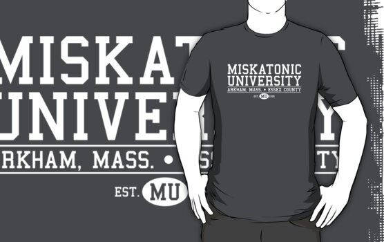 Miskatonic University - White by Josh Legendre