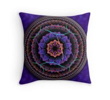 Held On By Threads Throw Pillow