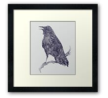 Natures Cry Framed Print