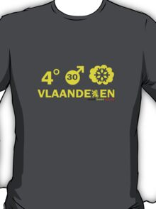Vlaanderen Weather alt T-Shirt