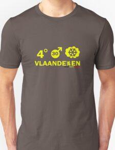Vlaanderen Weather alt Unisex T-Shirt