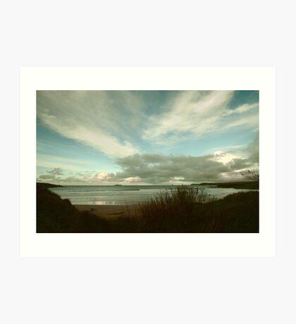 Harlyn Bay Memories Art Print