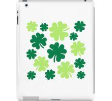 Irish shamrocks iPad Case/Skin