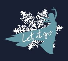 Frozen Elsa sihouette Let it go by sweetsisters
