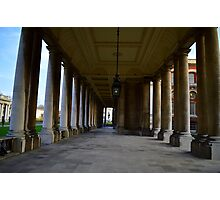 Greenwich University Hallway Photographic Print