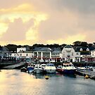Sunset in Padstow by Samantha Higgs