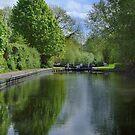 Greenham Lock - Newbury by Samantha Higgs