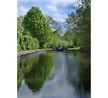 Greenham Lock - Newbury Photographic Print