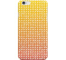 vintage gradient dots pattern background iPhone Case/Skin