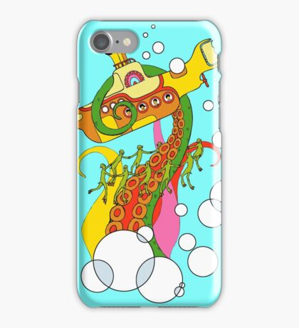 When The Beatles met Cthulhu iPhone Case/Skin
