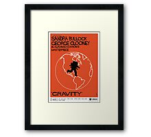 Gravity/Vertigo Poster Mash-up Framed Print