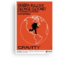 Gravity/Vertigo Poster Mash-up Canvas Print