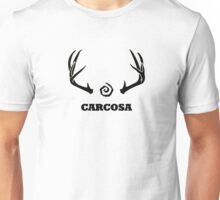 True Detective - Carcosa Antlers - Black Unisex T-Shirt