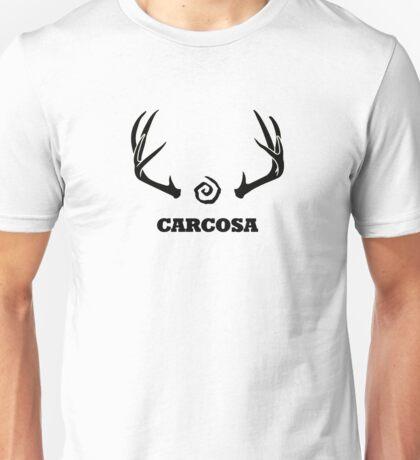 True Detective - Carcosa Antlers - Black Unisex T-Shirt