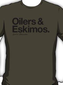Loyal to Edmonton (Black Print) T-Shirt