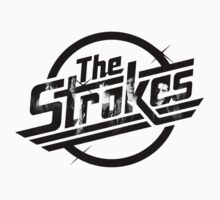 The Strokes Logo Black And White by gakest