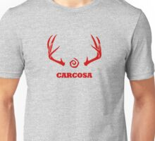 True Detective - Carcosa Antlers - Red Unisex T-Shirt