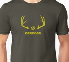 True Detective - Carcosa Antlers - Yellow Unisex T-Shirt