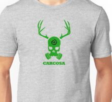 True Detective - Carcosa Gas Mask - Green Unisex T-Shirt