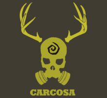 True Detective - Carcosa Gas Mask - Yellow T-Shirt