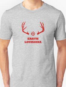 True Detective - Erath Antlers - Red Unisex T-Shirt