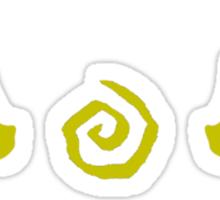 True Detective - Erath Antlers - Yellow Sticker
