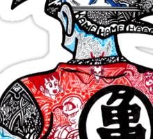 DBZ doodle, unedited version  Sticker