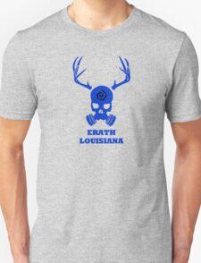 True Detective - Erath Gas Mask - Blue Unisex T-Shirt