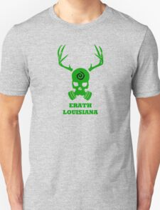 True Detective - Erath Gas Mask - Green Unisex T-Shirt