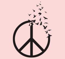 Birds of Peace Kids Tee