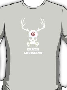 True Detective - Erath Gas Mask - White T-Shirt