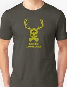 True Detective - Erath Gas Mask - Yellow Unisex T-Shirt