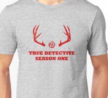 True Detective - Season One Antlers - Red Unisex T-Shirt