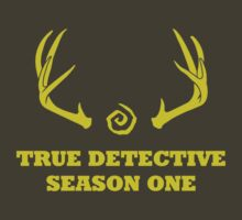 True Detective - Season One Antlers - Yellow by Prophecyrob