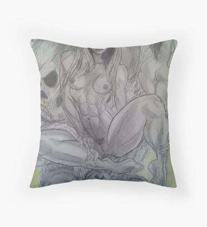 dahlia's dream Throw Pillow