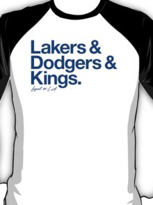 Loyal to Los Angeles (Blue Print) T-Shirt