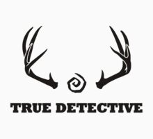 True Detective - Antlers - Black by Prophecyrob