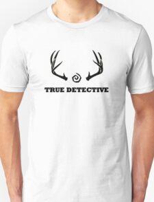 True Detective - Antlers - Black T-Shirt