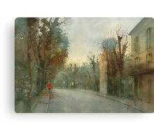 A little optimism in autumn evening Canvas Print