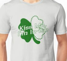 Kiss Me, I'm Ir-ish Unisex T-Shirt