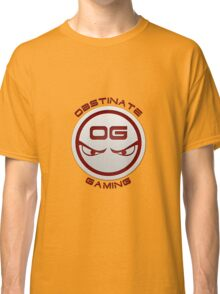 Obstinate Gaming (Maroon Text) Classic T-Shirt
