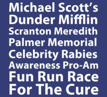 Michael Scott's Fun Run by talkpiece